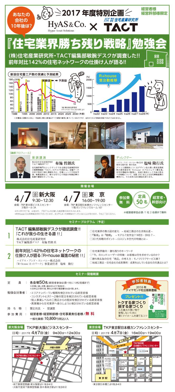 『住宅業界生き残り戦略』勉強会